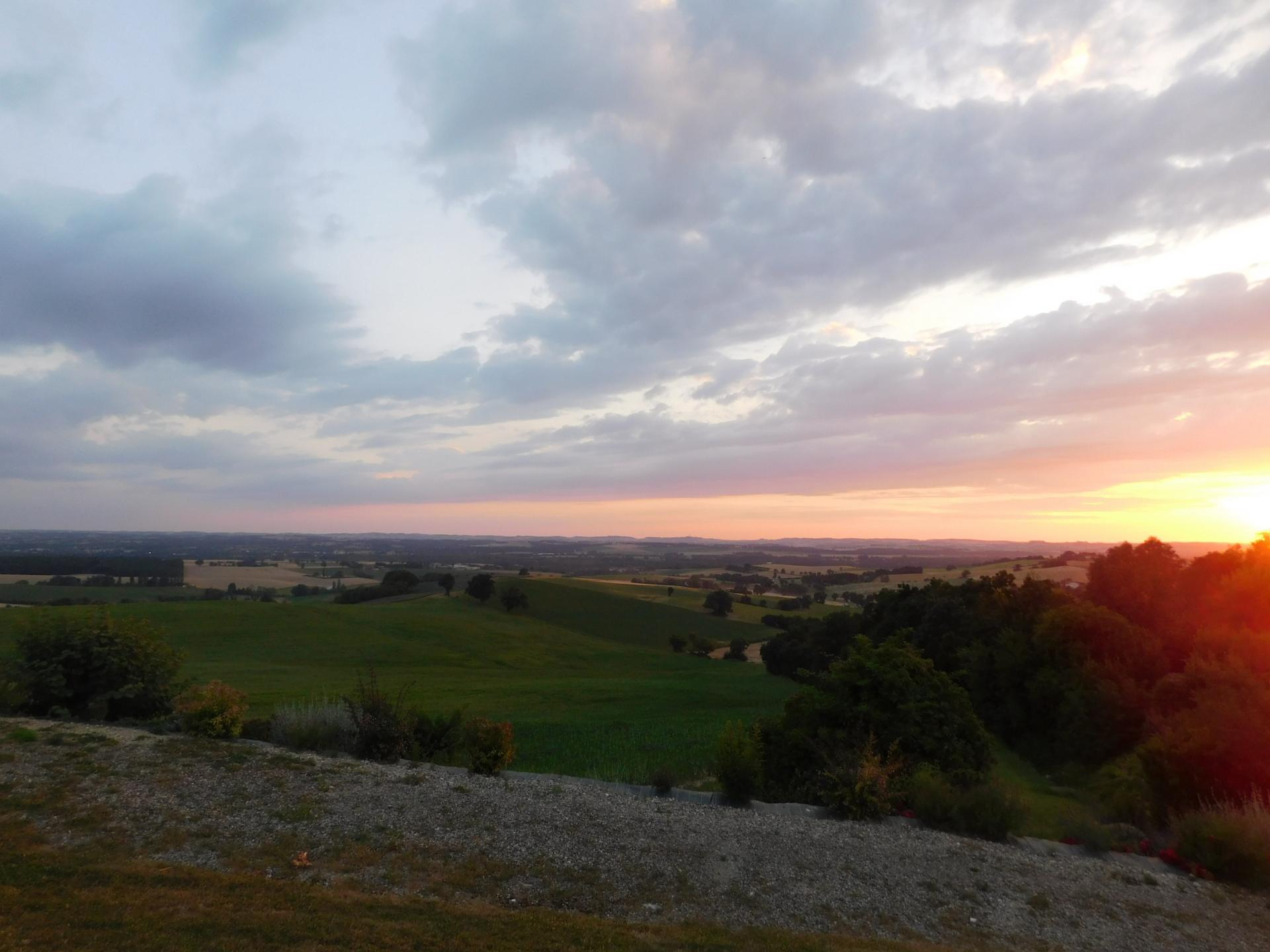 Paysage de Castelnau d'Arbieu