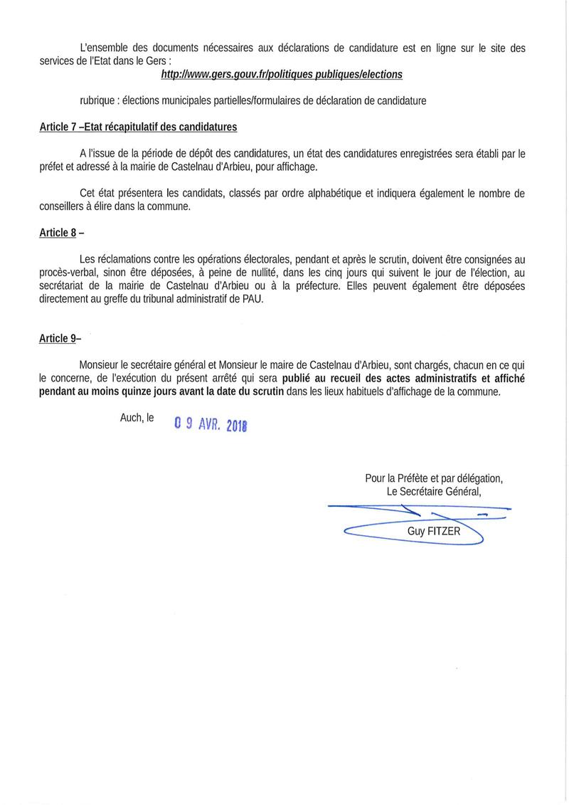 2018 ap portant convocation des electeurs 3