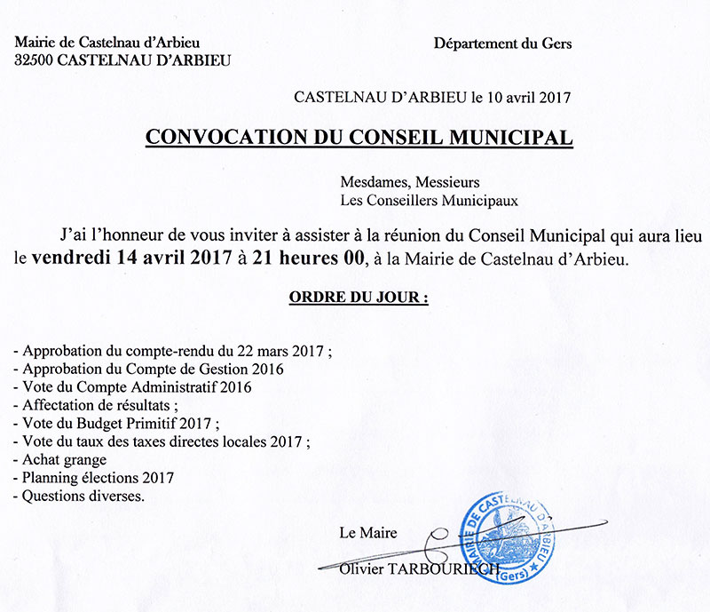 Cr municipal